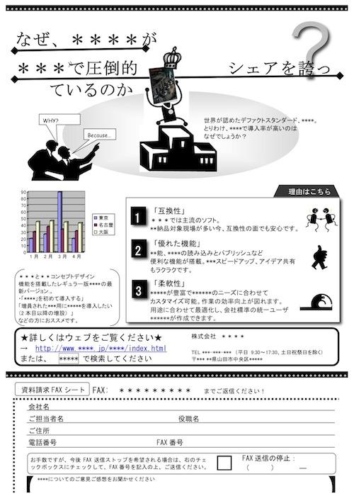 fax送信実績 株式会社オフィスエム